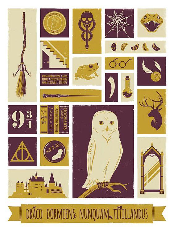 Красивые стикеры и наклейки Гарри Поттер - коллекция 46 картинок 2