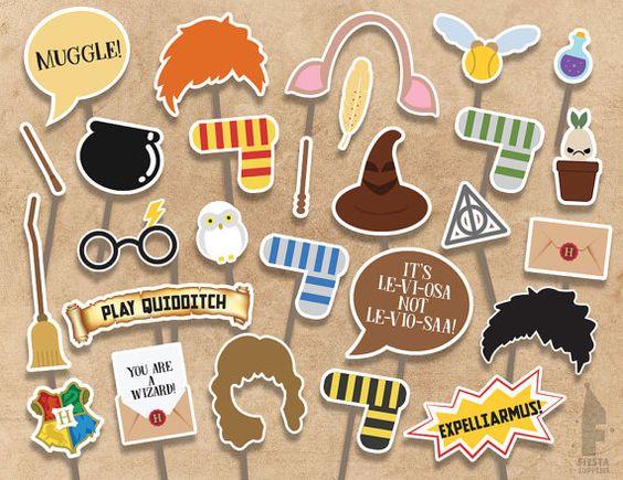 Красивые стикеры и наклейки Гарри Поттер - коллекция 46 картинок 26
