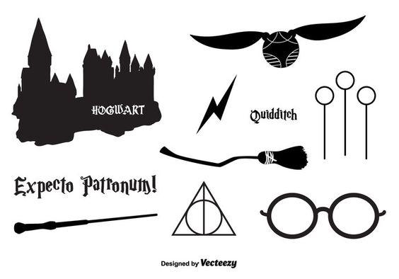 Красивые стикеры и наклейки Гарри Поттер - коллекция 46 картинок 31