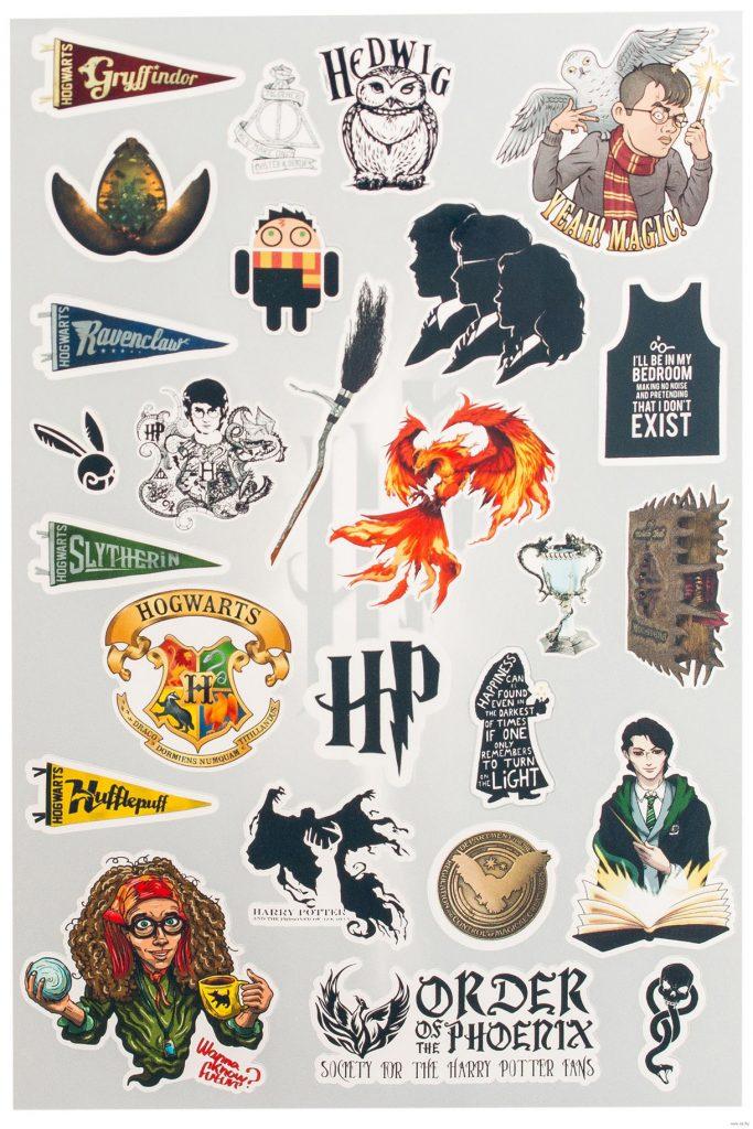 Красивые стикеры и наклейки Гарри Поттер - коллекция 46 картинок 39