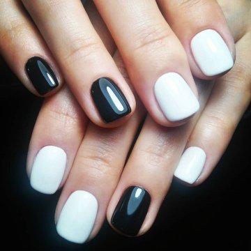 Красивые фото дизайна белых ногтей - подборка 25 картинок 16