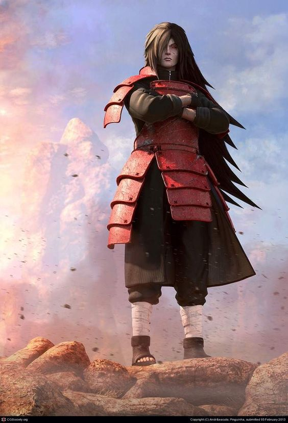 Невероятная подборка артов и изображений из аниме Наруто 4