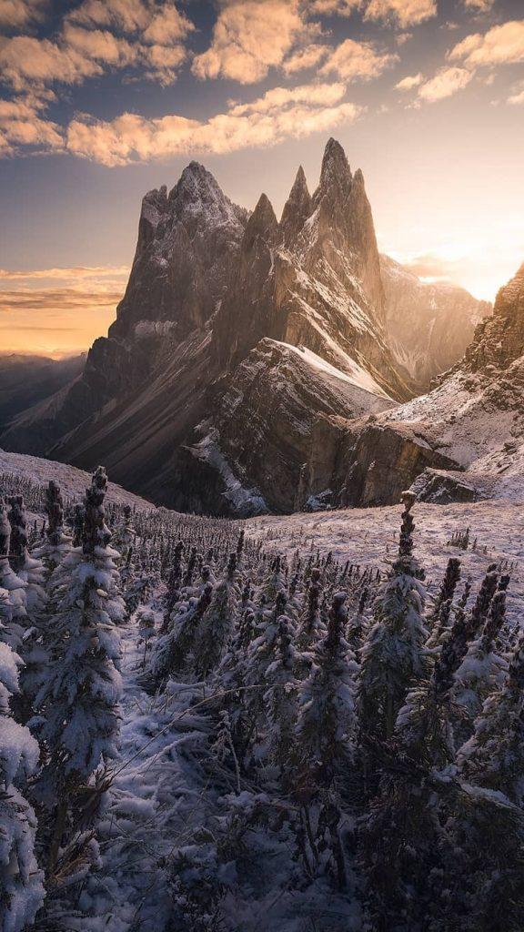 Необычные картинки гор и природы для заставки телефон - сборка 12