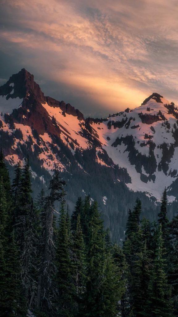 Необычные картинки гор и природы для заставки телефон - сборка 14
