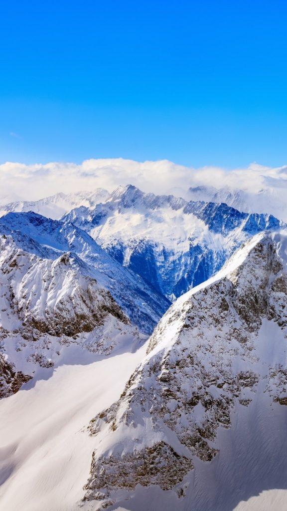 Необычные картинки гор и природы для заставки телефон - сборка 2