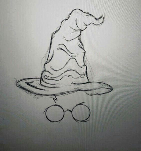 Необычные черно-белые картинки, рисунки для срисовки - сборка 3
