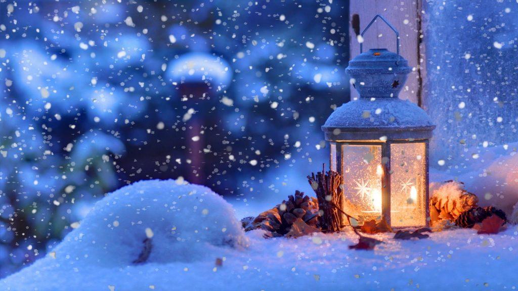 Падающий снег - красивые картинки и обои на рабочий стол 1