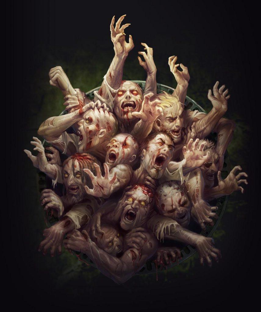 Прикольные и интересные картинки с Зомби или про Зомби - сборка 11