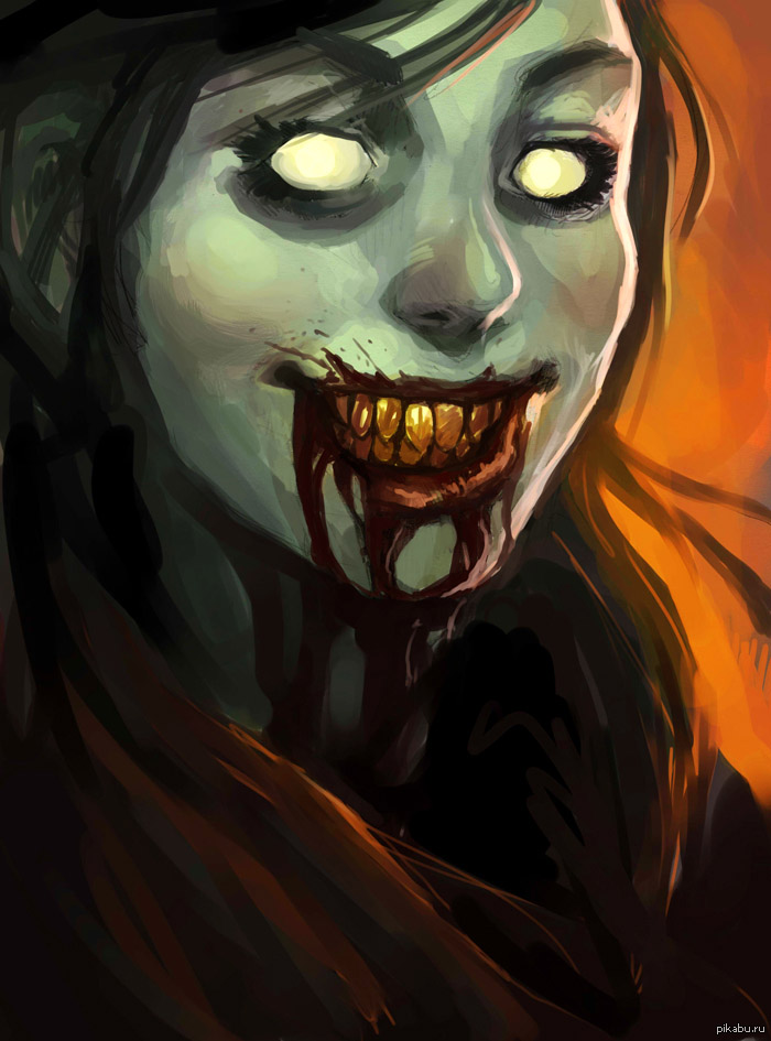 Прикольные и интересные картинки с Зомби или про Зомби - сборка 16