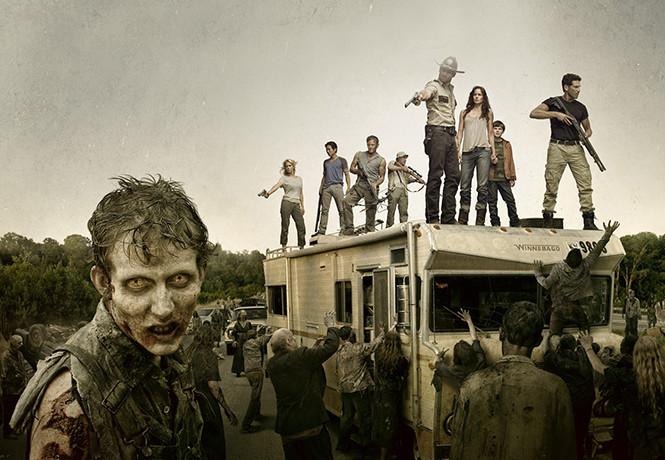 Прикольные и интересные картинки с Зомби или про Зомби - сборка 3