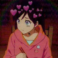 Прикольные и классные картинки девушек с сердечками - сборка 5