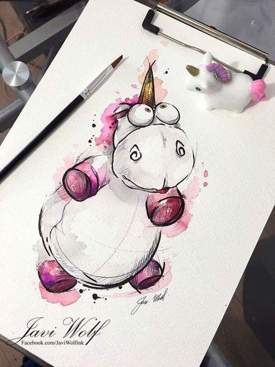 Самые красивые нарисованные рисунки животных - 25 картинок 11