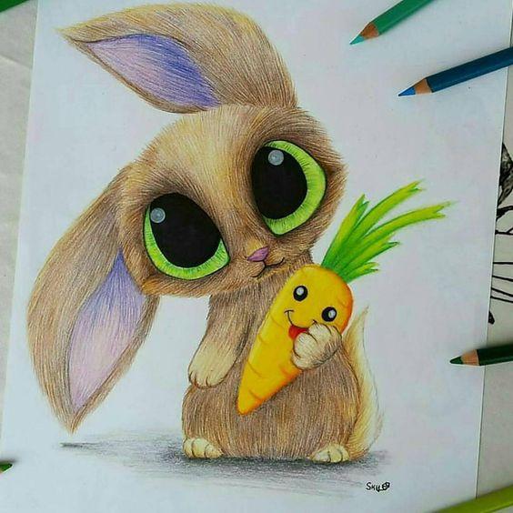 Самые красивые нарисованные рисунки животных - 25 картинок 14