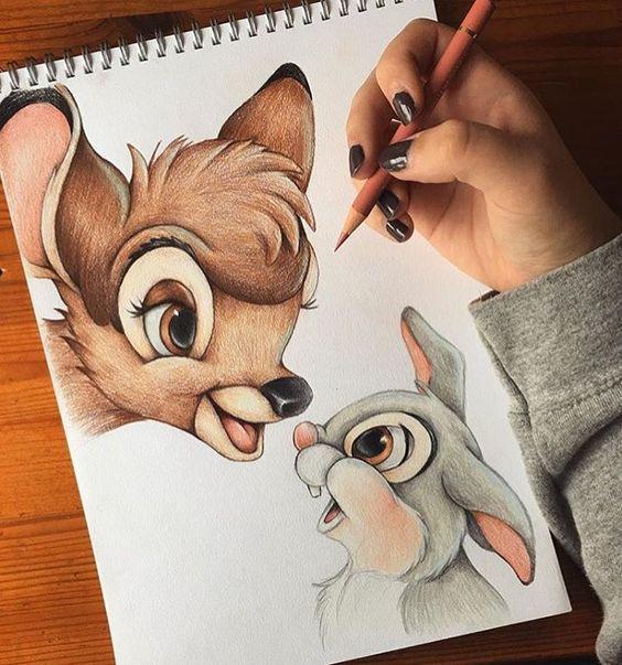 Самые красивые нарисованные рисунки животных - 25 картинок 15