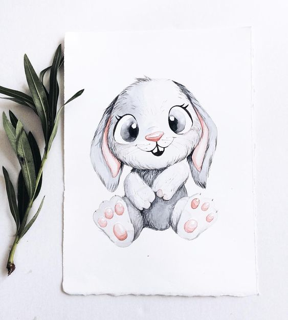 Самые красивые нарисованные рисунки животных - 25 картинок 19