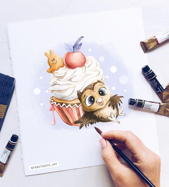 Самые красивые нарисованные рисунки животных - 25 картинок 24