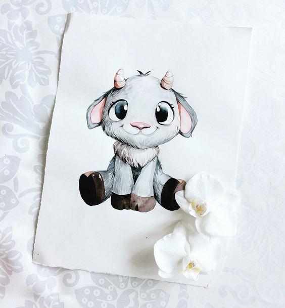 Самые красивые нарисованные рисунки животных - 25 картинок 25
