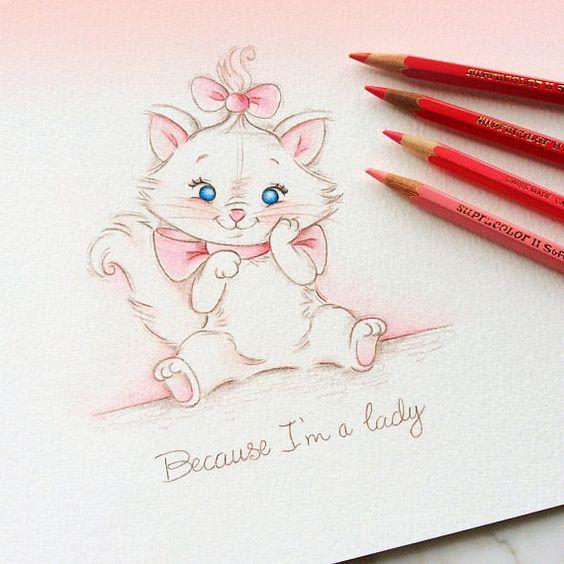 Самые красивые нарисованные рисунки животных - 25 картинок 6