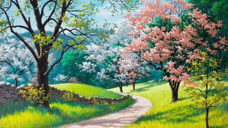 Удивительная и красивая подборка картинок Весна - 25 фото 22