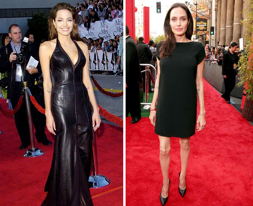 Фото похудевших звезд до и после. Удивительные изменения 16