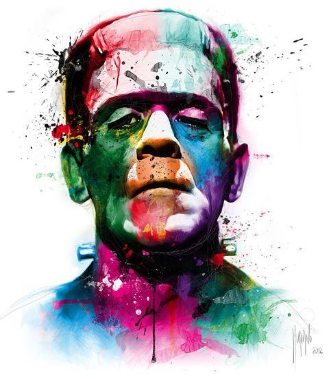Классные и крутые картинки, арты, фото Франкенштейна - подборка 13