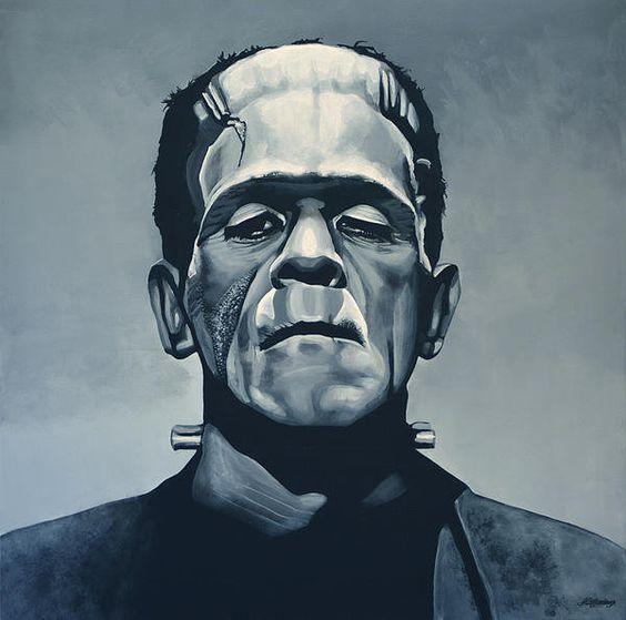 Классные и крутые картинки, арты, фото Франкенштейна - подборка 8