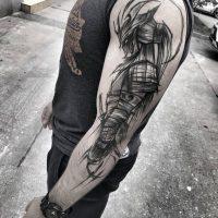 Классные и крутые татуировки на руках и на бицепсе - картинки, фото 1