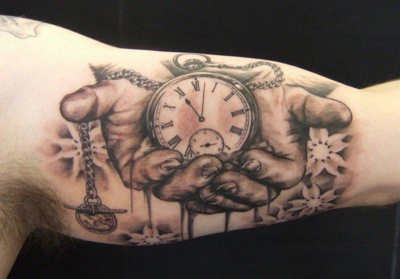 Классные и крутые татуировки на руках и на бицепсе - картинки, фото 2