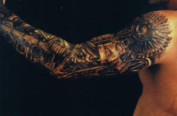 Классные и крутые татуировки на руках и на бицепсе - картинки, фото 5