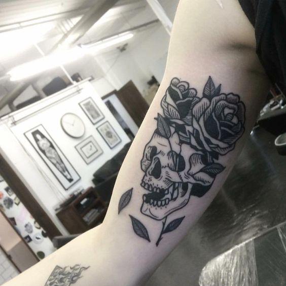 Классные и крутые татуировки на руках и на бицепсе - картинки, фото 7