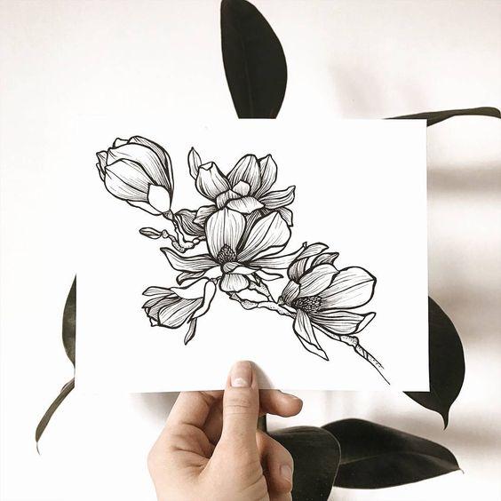 Классные картинки для срисовки тату и татуировки - подборка 15