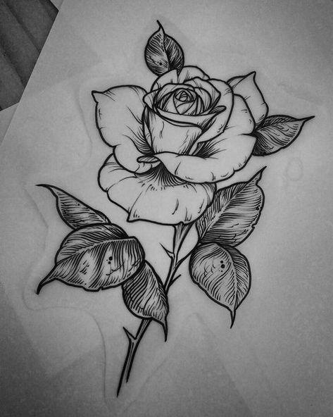 Классные картинки для срисовки тату и татуировки - подборка 19