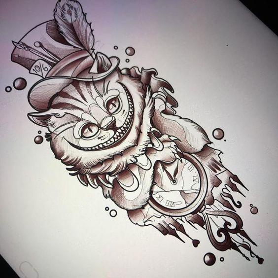 Классные картинки для срисовки тату и татуировки - подборка 20