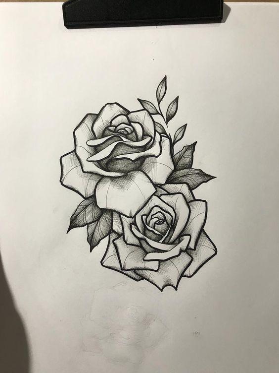 Классные картинки для срисовки тату и татуировки - подборка 4