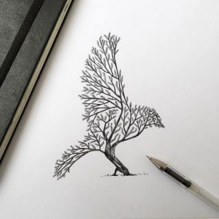 Классные картинки для срисовки тату и татуировки - подборка 8