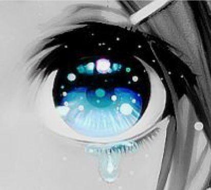 Красивые арт аниме картинки глаза девушек, их лицо - подборка 1