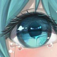 Красивые арт аниме картинки глаза девушек, их лицо - подборка 8