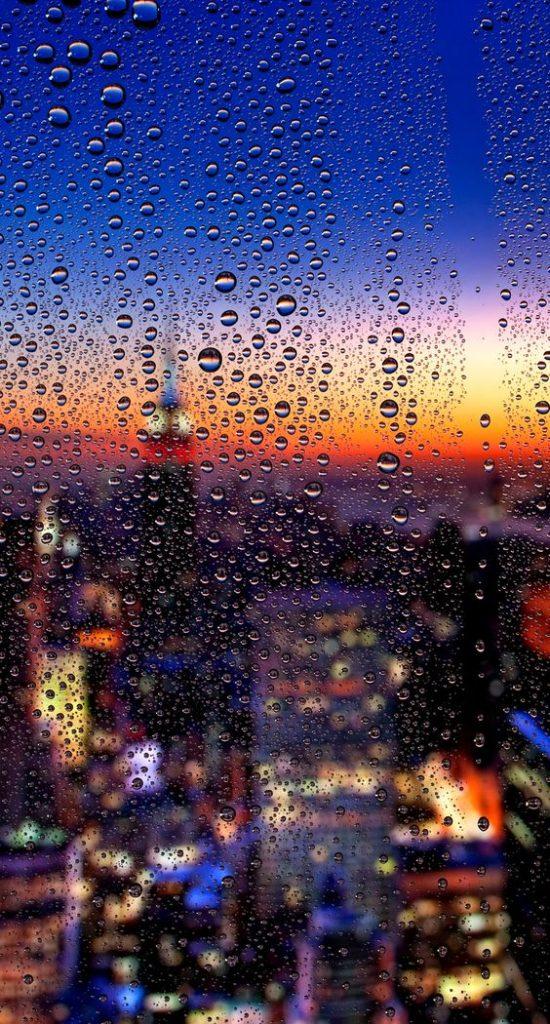 Красивые и удивительные картинки дождя для заставки - подборка 16