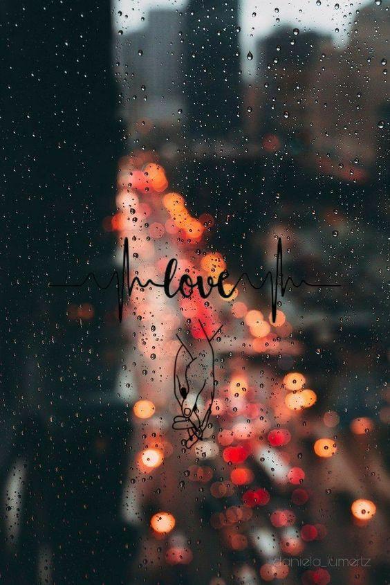 Красивые и удивительные картинки дождя для заставки - подборка 4