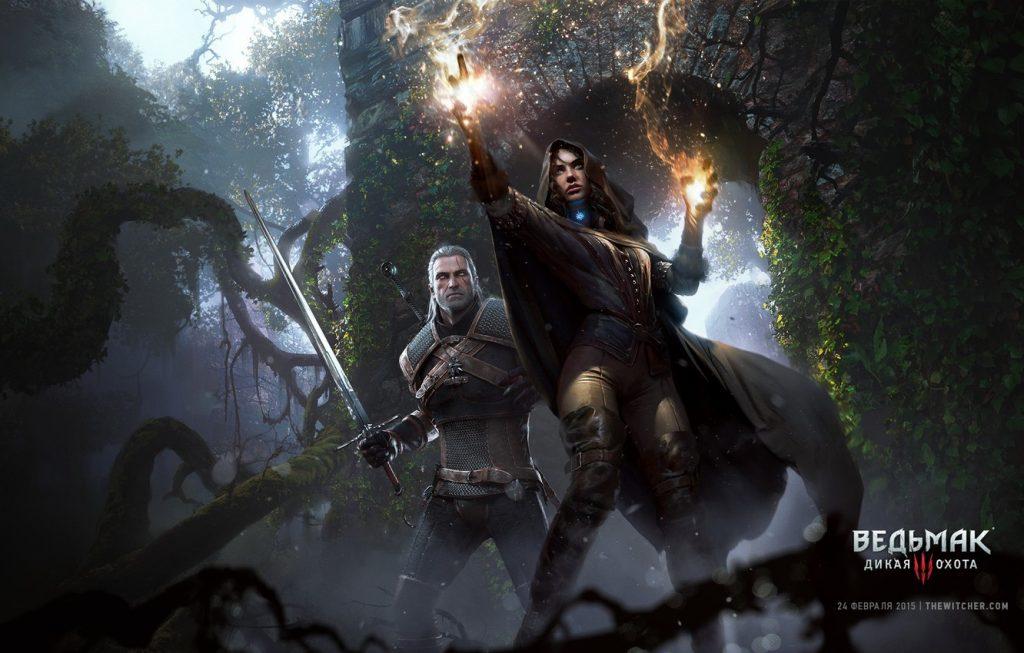 Красивые картинки, арт Йеннифэр из Венгерберга The Witcher 3 Wild Hunt 11