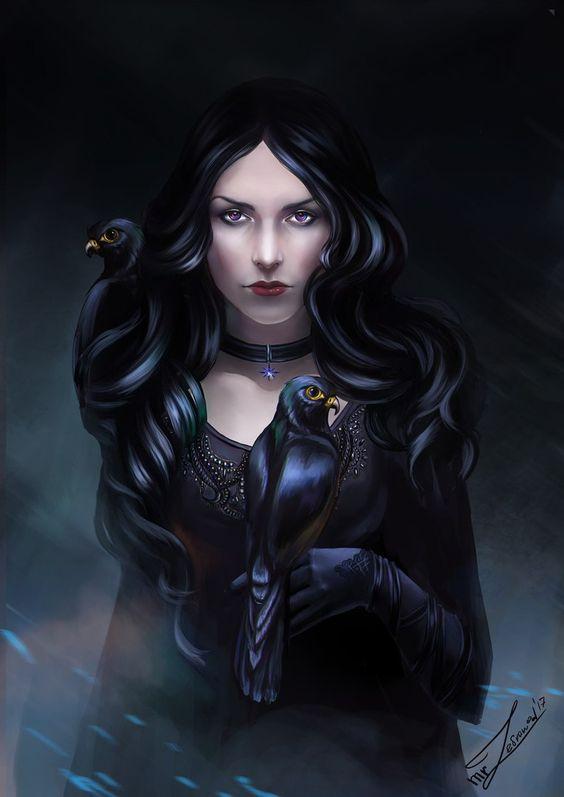 Красивые картинки, арт Йеннифэр из Венгерберга The Witcher 3 Wild Hunt 14