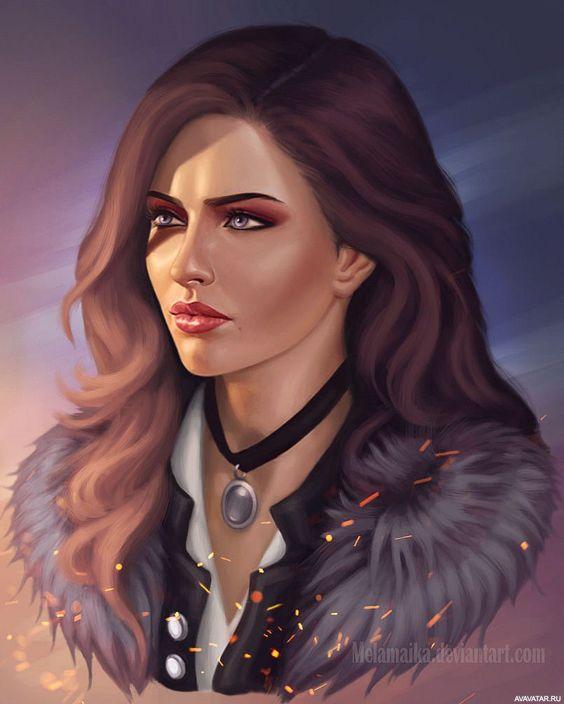Красивые картинки, арт Йеннифэр из Венгерберга The Witcher 3 Wild Hunt 16