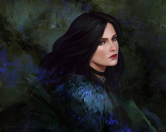 Красивые картинки, арт Йеннифэр из Венгерберга The Witcher 3 Wild Hunt 17