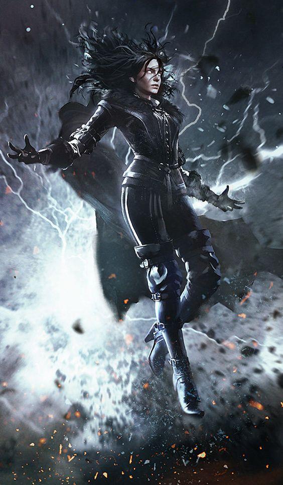 Красивые картинки, арт Йеннифэр из Венгерберга The Witcher 3 Wild Hunt 2