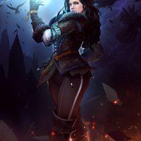 Красивые картинки, арт Йеннифэр из Венгерберга The Witcher 3 Wild Hunt 3