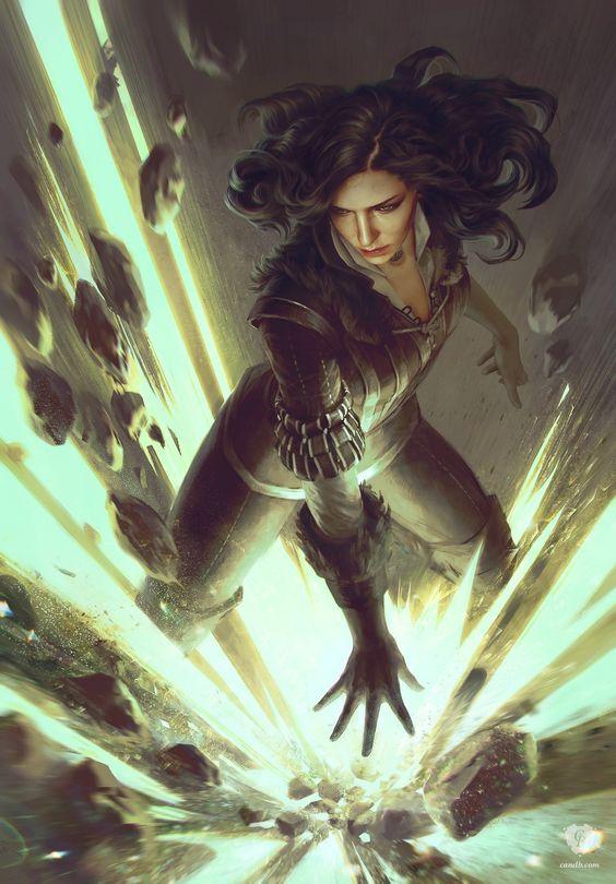 Красивые картинки, арт Йеннифэр из Венгерберга The Witcher 3 Wild Hunt 4