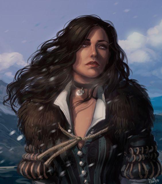 Красивые картинки, арт Йеннифэр из Венгерберга The Witcher 3 Wild Hunt 8