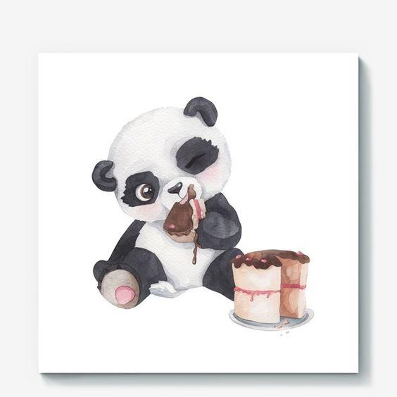 Красивые картинки и изображения панды, панд - подборка артов 12
