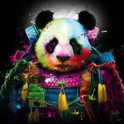 Красивые картинки и изображения панды, панд - подборка артов 13