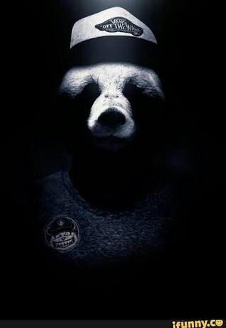 Красивые картинки и изображения панды, панд - подборка артов 15